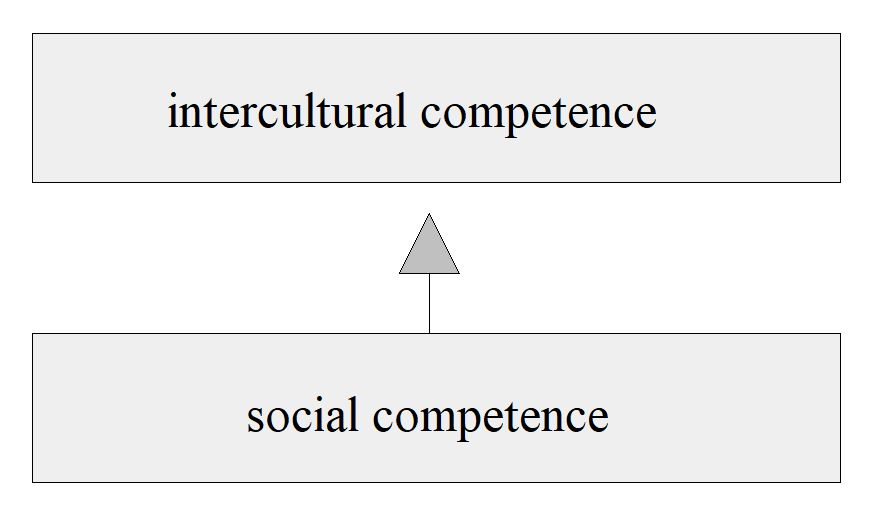 Figure 3: From social to intercultural competence